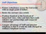 voip objectives5