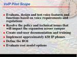 voip pilot scope7