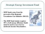 strategic energy investment fund