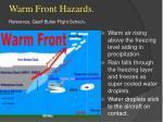 warm front hazards reference geoff butler flight school