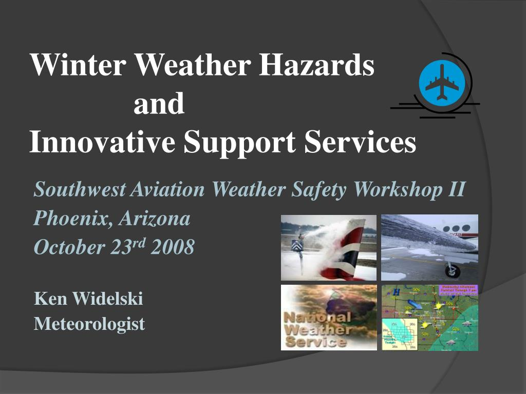 winter weather hazards and innovative support services l.