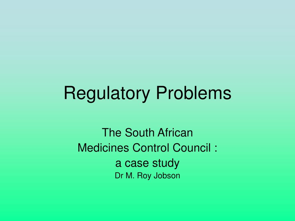regulatory problems l.
