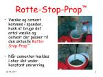rotte stop prop13