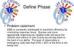 define phase