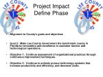 project impact define phase
