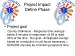 project impact define phase5