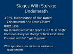 stages with storage underneath209