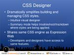 css designer
