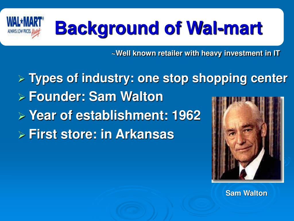 sam walton and the success of wal mart The company was incorporated as wal-mart, inc on october 31 since sam walton's death in 1992, however, walmart and the walmart foundation dramatically increased.