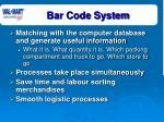 bar code system15