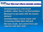 how wal mart affects dometic workers35