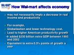 how wal mart affects economy37