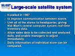 large scale satellite system