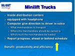 minilift trucks