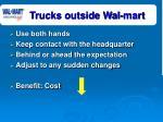 trucks outside wal mart12