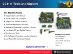 cc1111 tools and support