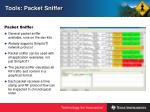tools packet sniffer