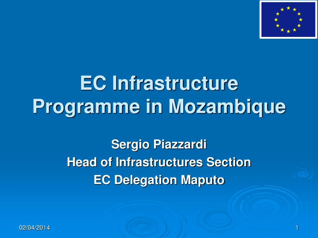 ec infrastructure programme in mozambique l.