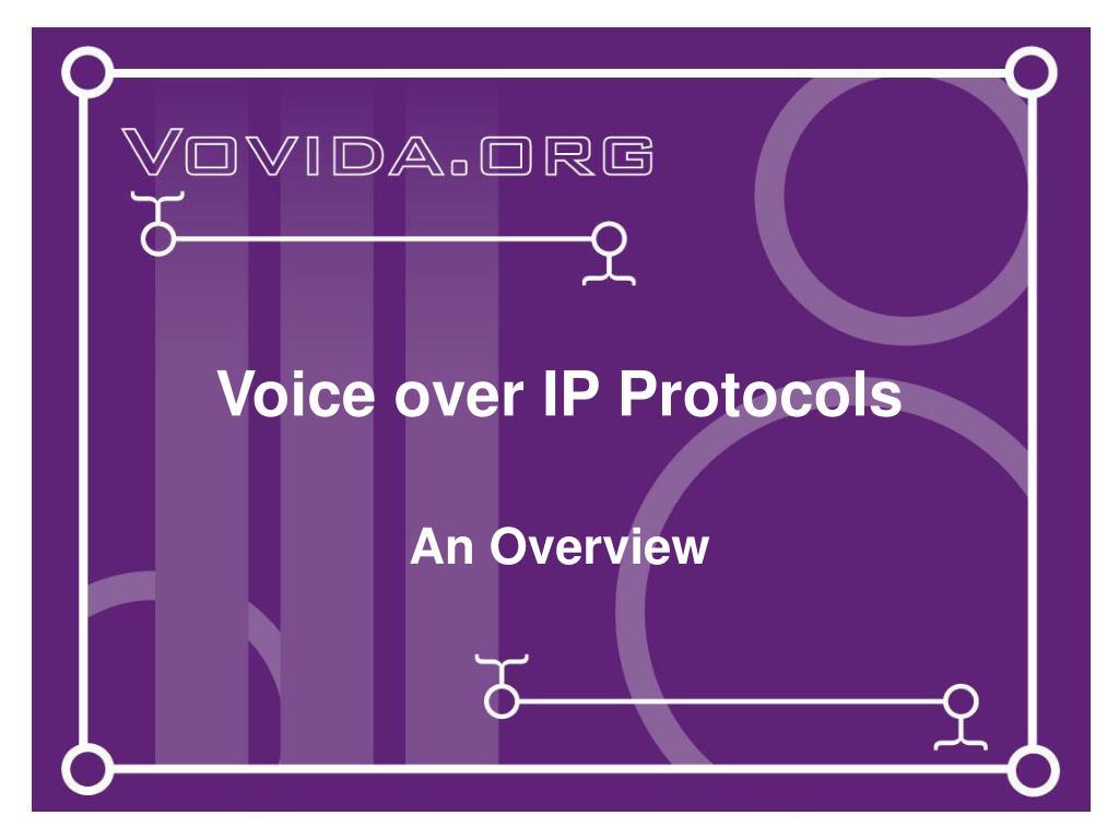 voice over ip protocols l.