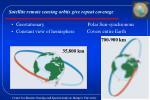 satellite remote sensing orbits give repeat coverage