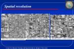 spatial resolution16