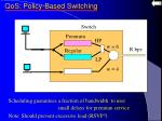 qos policy based switching