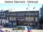 haldane tabernacle edinburgh