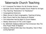 tabernacle church teaching