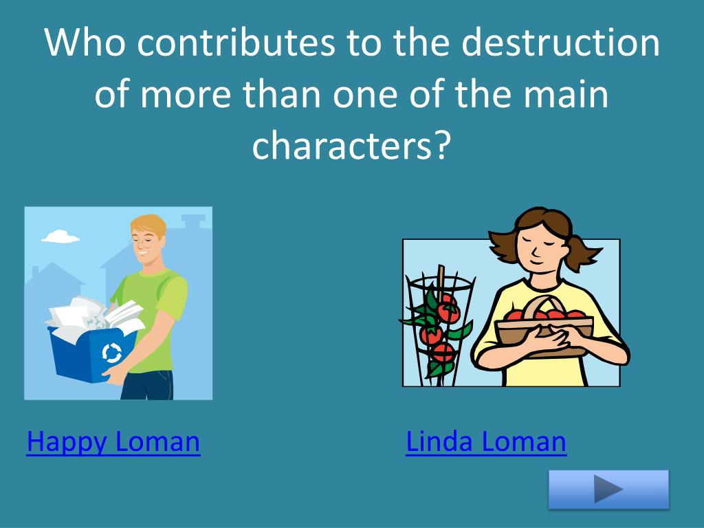 Who contributes to the destruction