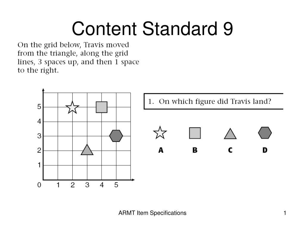 content standard 9 l.