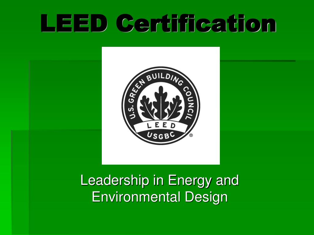 leed certification l.