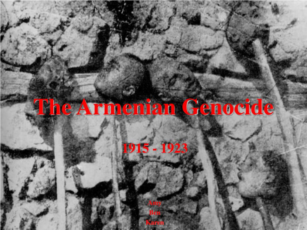 the armenian genocide l.