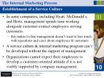 the internal marketing process17
