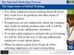 the internal marketing process34