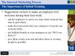 the internal marketing process35