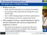 the internal marketing process36