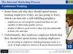 the internal marketing process40