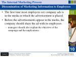 the internal marketing process50