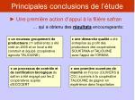 principales conclusions de l tude5