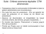 suite crit res commerce quitable ctm altromercato