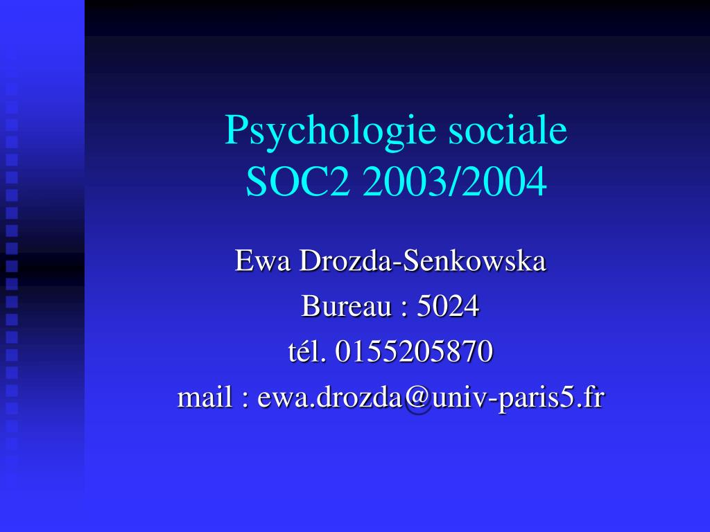psychologie sociale soc2 2003 2004 l.