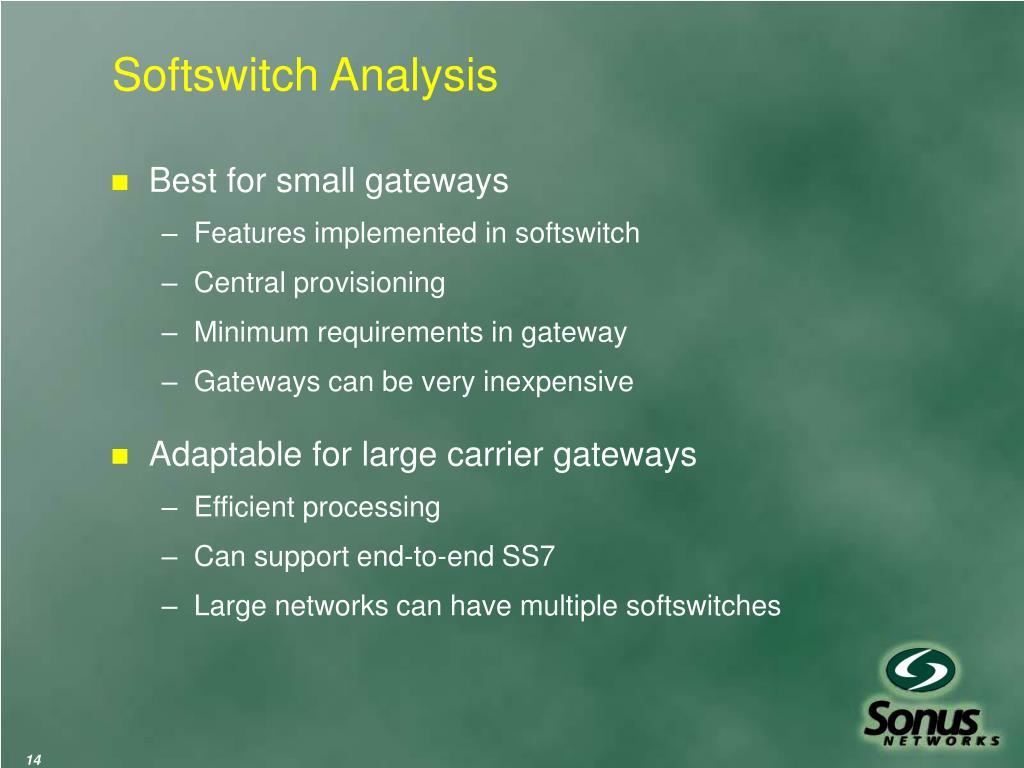 Softswitch Analysis