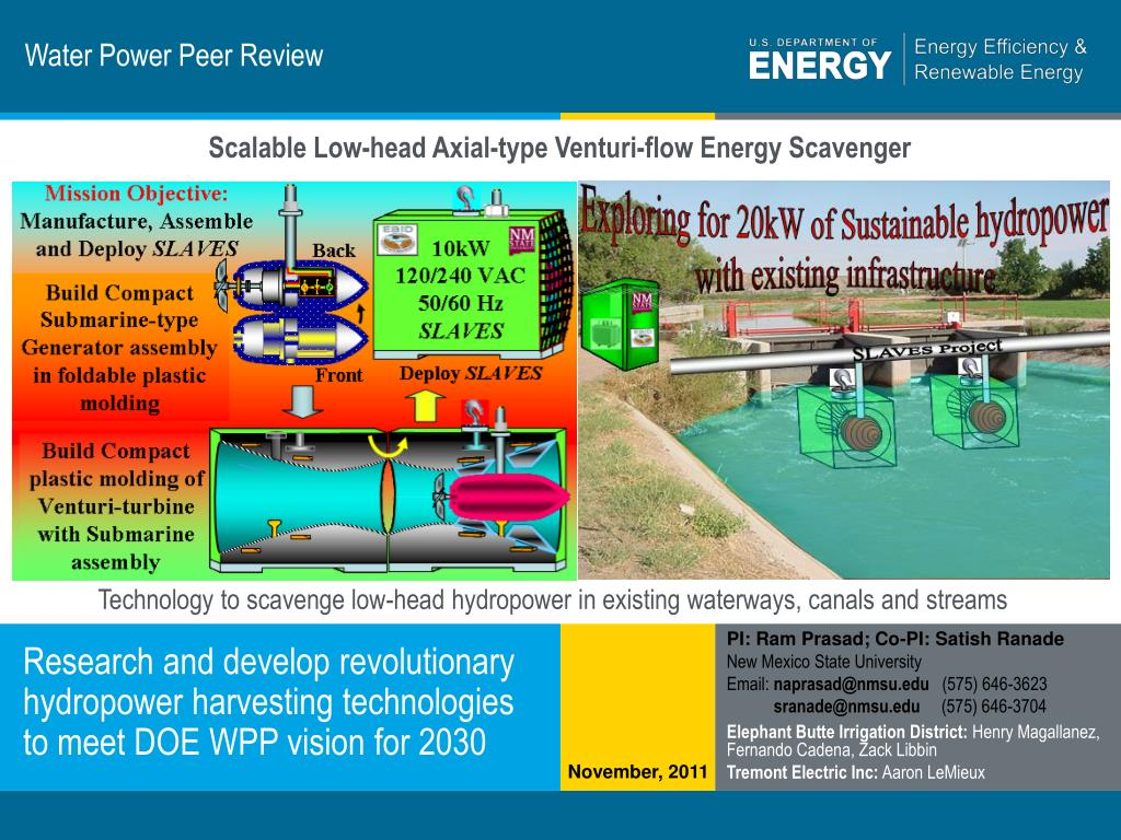 water power peer review l.