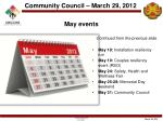 may events6
