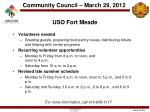 uso fort meade