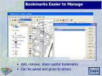 bookmarks easier to manage