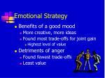 emotional strategy