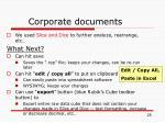 corporate documents25