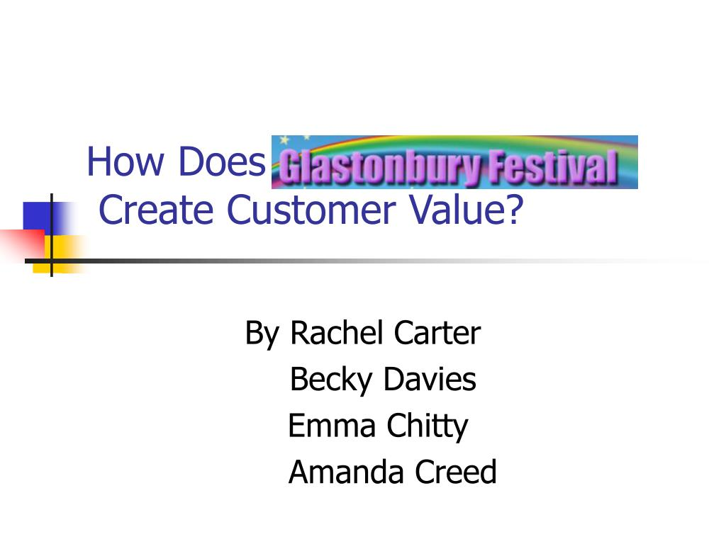 how does create customer value l.