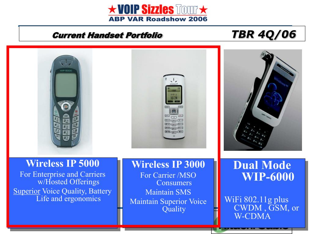 Wireless IP 5000